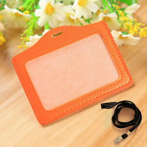 1PC New Card Holder Workers Card Neck Strap Necklace Badge Lanyard Work Permit