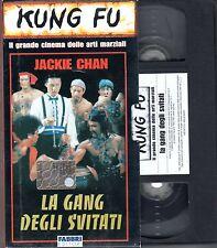 La Gang degli Svitati (1984)  VHS Fabbri editori Video   Kung Fu Jackie CHAN