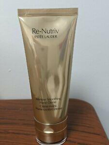Estee Lauder Re-Nutriv Intensive Smoothing Hand Creme Cream 3.4OZ-Sealed-Full Sz