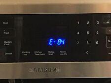 Samsung NE597N0PBSR Induction Range E-84 Error Code Repair Directions Manual