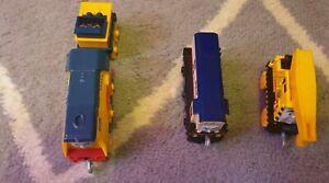 Thomas trackmaster push along trains