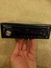 Kenwood Kdc-Mp208 Cd Player, Aux, Mp3/Wma (Free Ship, smoke free car)