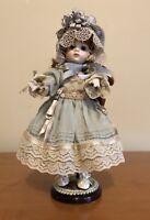 ZOE Mary Benner - Heartland Mint Porcelain Doll - L/E #31/400 w/COA, Box, Stand