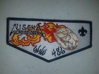Boy Scout OA Lodge 486 Nischa Achowalogen Ordeal Flap