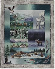 True Nature McKenna Ryan Pine Needles Wildlife Animal Bear Moose 6 Pattern Set