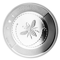 LE GRAND MINT  SILBER BIENE 2020 1 OZ 9999 SILVER BEE BULLION COIN PROOF w/ COA