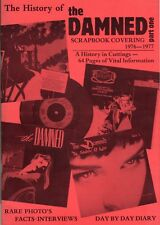 THE DAMNED  HISTORY OF THE DAMNED SCRAPBOOK part one like a new