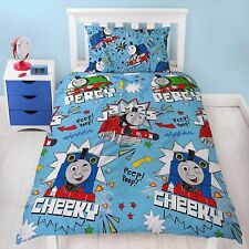 Thomas the Tank Engine & Friends Sketchbook  single Duvet & pillowcase set