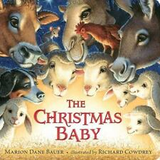 (NEW) The Christmas Baby by Marion Dane Bauer (Classic Board Book)