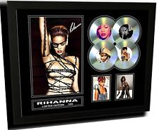 RIHANNA SIGNED LIMITED EDITION FRAMED MEMORABILIA
