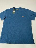 Mens RODD & GUNN Blue Soft Cotton Sports Fit The Gunn T Shirt Sz M NEW NWT