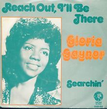 7inch GLORIA GAYNOR reach out ill be there HOLLAND EX 1975