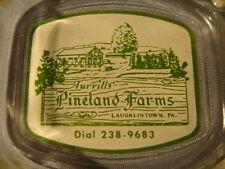 Vintage Turrills' Pineland Farms Laughlintown PA Ashtray