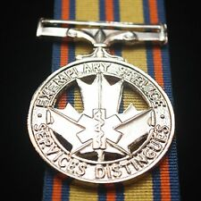 Canadian Exemplary Service Medal, Emergency Medical Service, Reproduction