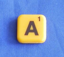 Words With Friends Letter A Tile Replacement Magnet Game Part Piece Craft Yellow