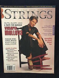 STRINGS magazine - April 2004 - VIKTORIA MULLOVA violin