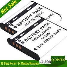 2x OLYMPUS Li-50B/PENTAX D-Li92 CAMERA REPLACEMENT BATTERY 1010 1020 Tough 8010