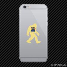 New Jersey Bigfoot Cell Phone Sticker Mobile NJ big foot sasquatch yeti
