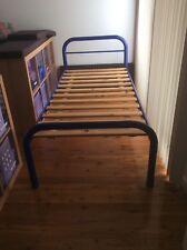 Single wooden Slat Bed metal Frame- Used
