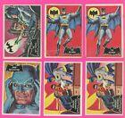 1966 Topps BATMAN BLACK BAT lot 26 (21 diff) two #1 Batman mixed lot Poor to Ex