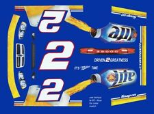 #2 Brad Kesolowski Miller 2011 Dodge Charger 1/43rd Scale Slot Car Decals