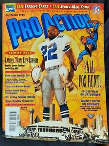 1994 PRO ACTION Dallas Cowboys EMMITT SMITH cover Spider-man comx, free cards++