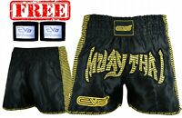 EVO Pro Muay Thai Fight Shorts MMA Kick Boxing Grappling Martial Arts Gear UFC
