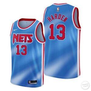 Brooklyn Nets James Harden Vintage Jersey Basketball-NBA Swingman Men Size NIKE