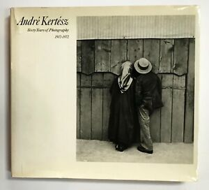 ANDRE KERTESZ. SIXTY YEARS. 1972. First edition. With price list, dated 1980.