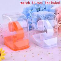 Acrylic Watch Display Holder Case watch Showcase ToolTransparent Wristwatch box#