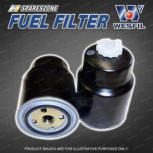 Wesfil Fuel Filter for Nissan Navara D40 Pathfinder R51 2.5L Diesel Refer Z640