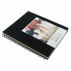 Art Creation Sketch Book, 21,5x28cm, 80 Blatt Skizzenbuch mit Ringspirale