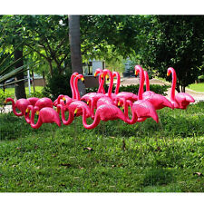 DHPE Flamingo Decor Plastic Lawn Figurine Home Garden Party Wedding Decoration