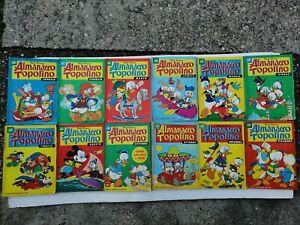 Almanacco Topolino Disney Mens 1 A 12 Year Complete 1968 Mondadori