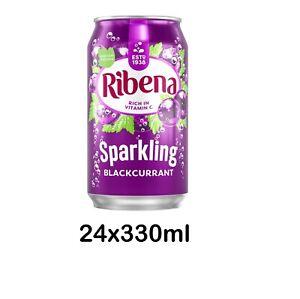 24x330ml Ribena Sparkling Blackcurrant