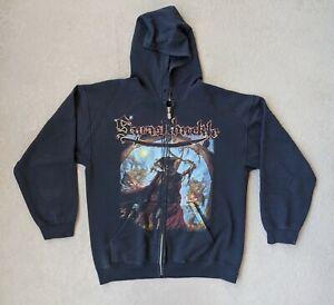 Swashbuckle Zip Hoodie Black Size L Death Metal Thrash Metal Pirate Metal Band