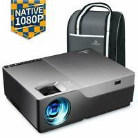 Vidéoprojecteur 6000 Lumens Video Projecteur Full HD Native 1080P (1920x1080)