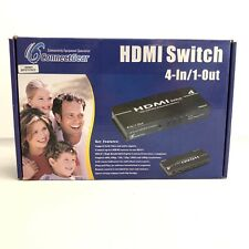 ConnectGear Accessory HSW41 HDMI Switch 4-In 1-Out With Remote Control