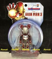 Medicom Be@rbrick 2015 Marvel Iron Man 3 100% Mark XLII 42 Damage ver Bearbrick