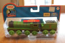 Thomas & Friends Learning Curve LC99003 Retired Henry Engine New Real Wood Rare