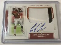 2019 National Treasures Hakeem Butler True RPA 81/99 Cardinals Auto
