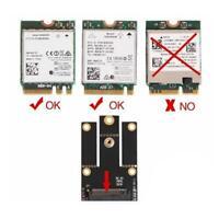 M.2 NGFF Clave A A + E a Mini PCI-E Adaptador inalámbrico WiFi BT Convertidor