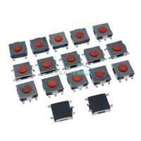 20pcs 4-Pin 6*6*2.5mm Tactile Push Button Switch Tact Switch Micro Switch  SMD