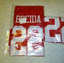 Matt Breida San Francisco 49ers Autographed Jersey Red TSE COA XL