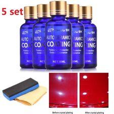 5x 30ml 9H Antiscratch Liquid Ceramic Car Coating Hydrophobic Glass Polish Care