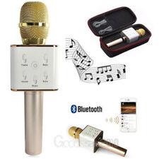 Q7 Wireless Bluetooth Handheld Ktv Karaoke Microphone Mic Speaker Sing For Phone
