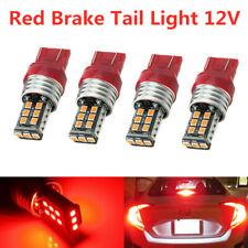 4x 7440/7443 T20 15 SMD 2835 LED Plasma Red Tail Turn Signal Car Light Bulb Lamp