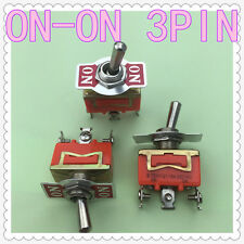 3pcs/lot E-TEN1121 3-Pin SPDT 3 Terminal G110 ON-ON 15A 250V Toggle Switch