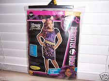 Monster High Scaris CLAWDEEN WOLF Girls Costume Size L (10-12) Halloween Pretend