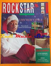 rivista ROCKSTAR 123 /1990 Lou Reed Wynton Marsalis Guccini Branduardi  No cd